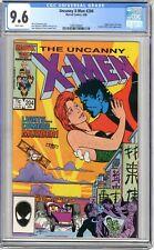 X-Men  #204  CGC   9.6   NM+   White pgs  4/86  Nightcrawler solo story  Arcade