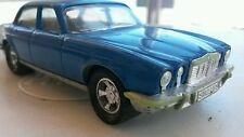 MATCHBOX SUPER KINGS JAGUAR XJ12 TOY Vintage Diecast Model Bulgaria1:43 Blue