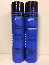 New: Sexy Hair  Curl Defining  Shampoo & Conditioner 10 oz unisex for curly hair