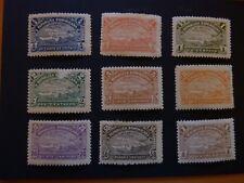 Dominicaine (République) 1900 - YT n° 93 à 101 neuf*/MH