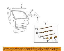HYUNDAI OEM 06-11 Azera REAR DOOR-Molding Assembly Right 877323L020