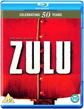 Zulu (1964) Michael Caine 50th Anniversary Edition Blu-Ray BRAND NEW Free Ship