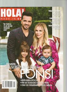 HOLA! MAGAZINE MARCH 2018,EXCLUSIVA LOS SECRETOS DE LA FAMILIA FONSI