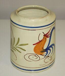 Capasa, vaso ceramica di Grottaglie per alimenti. Originale anni '50.