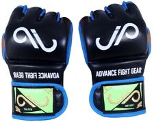 Jp Mma Real leather Grappling Gloves Ufc Muay Thai Kickboxing Cage Fighting