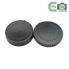 for Nikon 1 N1 V1 J1 V2 J2 V3 S1 Rear Lens and Body Cap Set 5 Pairs