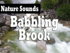 Nature Sounds: Babbling Brook - Relaxation Audio CD