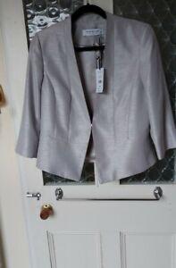 BNWT Jacques Vert Silver grey jacket Size 14
