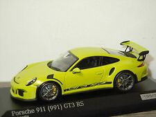 Porsche 911 991 GT3 RS - Minichamps 1:43 in Box *30815