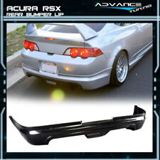 For 02 04 Acura RSX 2D Mugen Style Poly Urethane Rear Bumper Lip Spoiler Bodykit