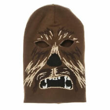 OFFICIALLY AWESOME STAR WARS CHEWBACCA MASK BEANIE HAT *BRAND NEW*
