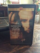 TOM CRUISE BRAD PITT - INTERVIEW WITH THE VAMPIRE - VHS MOVIE ANNE RICE