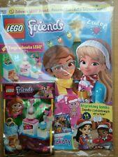 LEGO Friends Magazine 11/2019 + Limited Edition Mini Figure Olivia's bakery