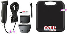 Wahl KM2 PRO HEAVY DUTY 2-Speed Clipper SET-10 WIDE&10 Blade,CASE-HORSE GROOMING