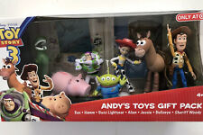 Toy Story 3 Andy's Toys Gift Pack Large Figures Woody Buzz Jessie Hamm Rex Alien