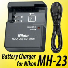 New MH-23 Battery Charger For Nikon EN-EL9 D40X D40 D60 D3000 D5000 Batteries