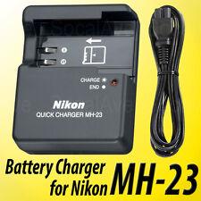 New MH-23 Battery Charger For Nikon EN-EL9 D40X D40 D60 D3000 D5000 Batteries