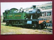 POSTCARD GWR 2-6-2T LOCO NO 4555 ON THE DAT VALLEY RAILWAY