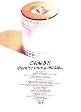 PUBLICITE 1970 ORLANE  crême B21 éternise votre jeunesse