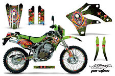 KAWASAKI KLX 250 Graphic Kit AMR Racing # Plates Decal Sticker Part 04-07 EDP