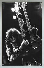 New! LED ZEPPELIN JIMMY PAGE Vinyl Banner Poster 27x43""