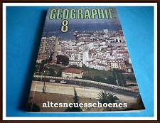 DDR Schulbuch / Lehrbuch -Geographie Klasse 8 EA 1990 sehr guter gebr.Zustand
