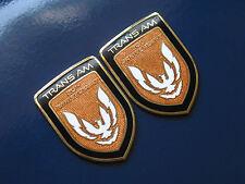 89 Pontiac Firebird 20th Anniversary Turbo Trans Am Sail Panel Badge Pair