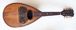 Mandoline napolitaine instrument ancien mandolin