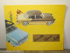 Folder/Brochure Simca Versailles Regence Marly *4391