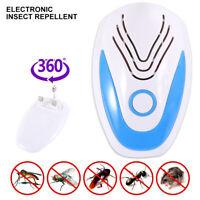 Ultrasónico electrónico Repelente de mosquitos Anti insecto hormigas cucarachas