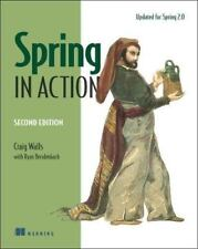 Spring in Action Walls, Craig, Breidenbach, Ryan Paperback Used - Good