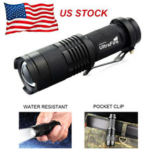 Ultrafire Mini Pocket 20000LM T6 LED 14500 Tactical Flashlight Torch Light Lamp