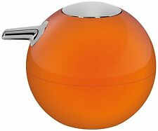 Spirella Polystyrene Bowl Shiny Soap Dispenser Orange NEW