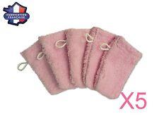 Lot de 5 petits gants de toilette d apprentissage pour bébé/enfant (Rose) Fabri