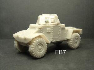 WWII FRENCH / BELGIAN PANHARD 178 ARMOURED CAR RESIN MODEL KIT - 20MM - FB7