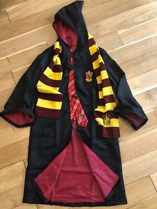 HP⚡ Kids House Robe - Gryffindor, Slytherin cloak dress up Halloween
