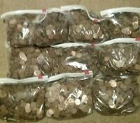Blowout Sale: 5000 Lincoln Copper Pennies 1959 to 1982 Many Bags Available