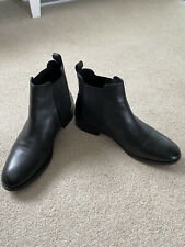 Office Bramble Chelsea Black Ankle Boots Size 7/41
