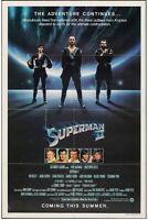 "Superman II 1981 Original Movie Poster One Sheet  27"" x 41"" Teaser"