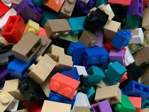 New - Lego 50 1x2 Brick - 3004 - Even More Added - White Blue Lavender Black
