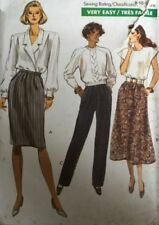 Vogue Cut Skirt Sewing Patterns