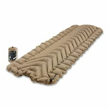 Klymit Static V Recon Advanced Body Mapped Compact Inflatable Sleeping Pad, Sand
