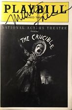 Martin Sheen Signed THE CRUCIBLE Broadway Playbill RARE!