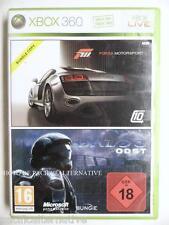 jeu FORZA MOTORSPORT 3 + HALO 3 ODST sur xbox 360 game en francais spiel juego