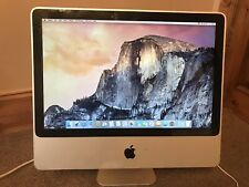 "Apple iMac A1224 20"" Core2 Duo 2GHz 4GB RAM 250GB HDD 10.10.5 OSX"