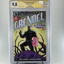Grendel: Devils Odyssey 1 CGC 9.8 SS Matt Wagner - Torpedo Comics Variant