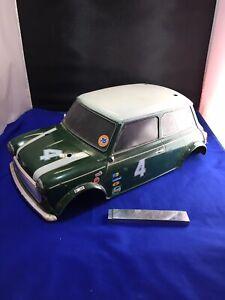 Tamiya Vintage Mini Cooper Racing Bodyshell Rc Car Spares Project Tatty