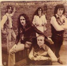 The Earl Scruggs Revue / Family Portrait vinyl LP 1976 Ex+ Bluegrass / Country