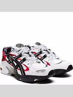 Asics 1021A182 100 Gel-Kayano 5 OG White Black Men's Running Shoes👍FREE 📦👍!