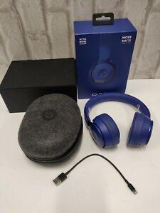 Beats by Dre Solo Pro Wireless Noise Cancelling Headphones Dark Blue